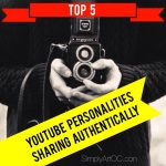 Simply Art Top 5 Youtube Personalities Sharing Authentically