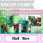 Simply Art Workshop Giveaway | A Turquoise Dream | Configuration Box