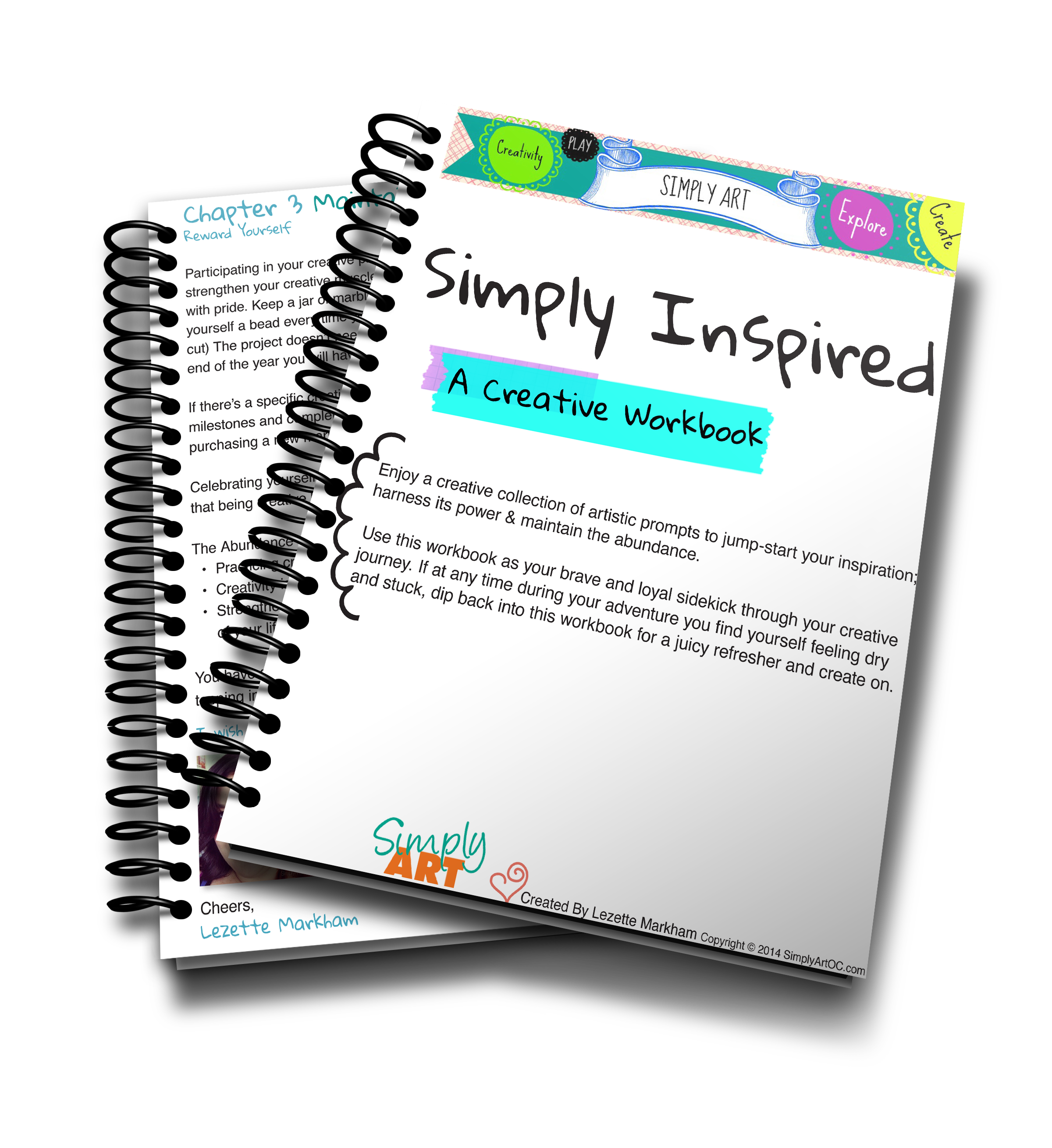 Simply Art - Simply Inspired A Creative Workbook