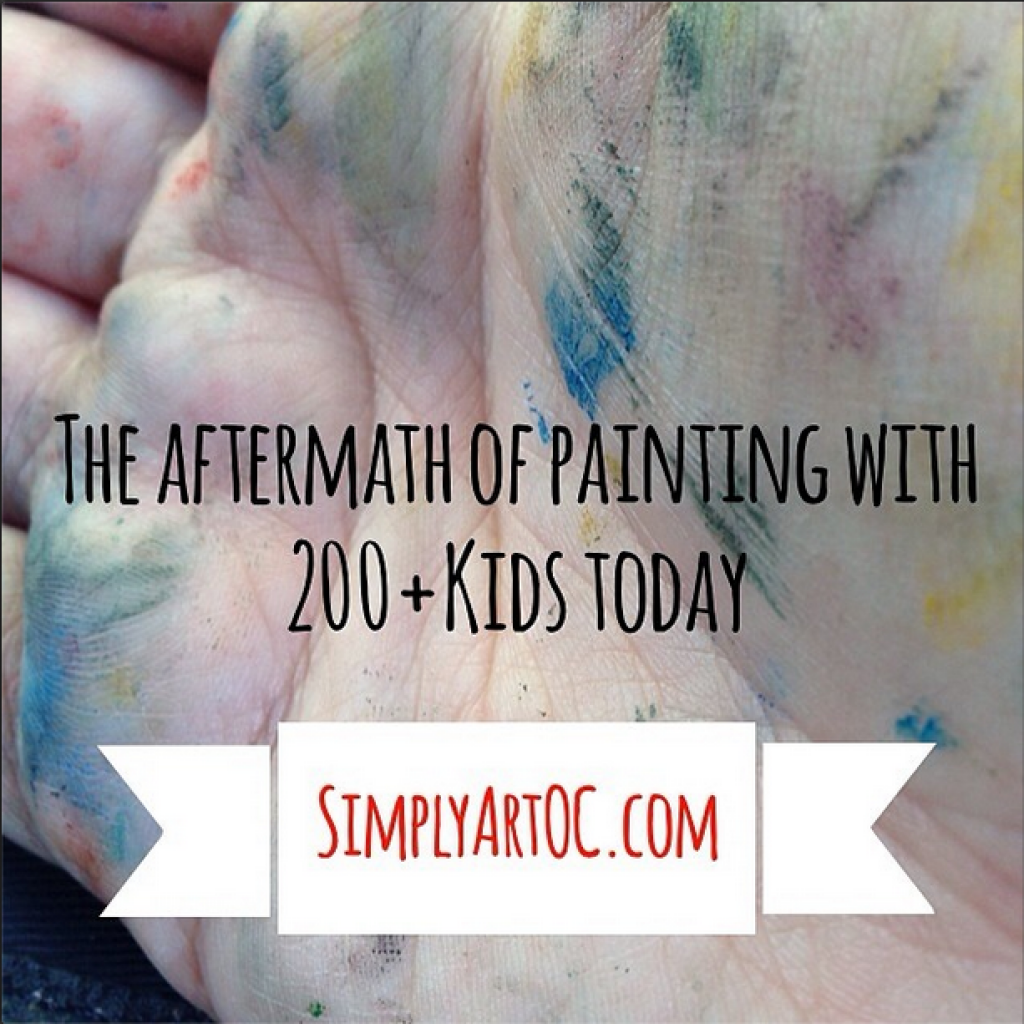 Simply art Painting with kids