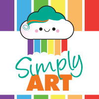 Simply Art Badge