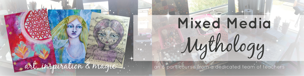 Mixed Media Mythology Course